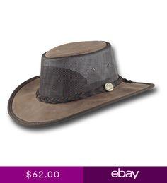 a27735c8f1b Barmah Hats Foldaway Mustang Cooler Leather Hat - 1078BR 1078HI 1078BL