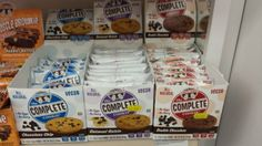 Lenny and Larry's Complete Cookies - dairy free and vegan cookies! The lemon poppy seed is to die for!