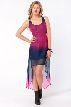 Volcom Sidewalk Flight Dress - High-Low Dress - $59.50