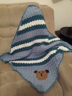 C2c - corner to corner blanket for Jack to keep warm xx