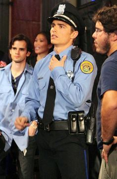 The only thing better than Dave Franco, is Dave Franco in uniform