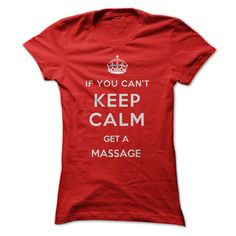 If you can't keep calm, get a massage! It's the perfect fix! Are you a proud Massage Therapist (or just a big fan of getting massages)? Show it off with this witty t-shirt and hoodie!