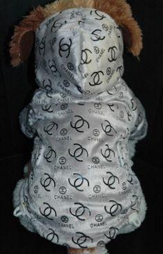 Chanel Gray Fleece Doggy Hoodie .:BēLLäSFãSh!oN:.