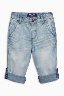 Lightweight Roll Hem Jeans (3mths-6yrs) (414196) | £11 - £12