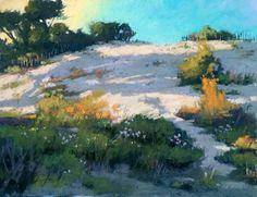 Солнечные пастельные пейзажи Terri Ford - Ярмарка Мастеров - ручная работа, handmade