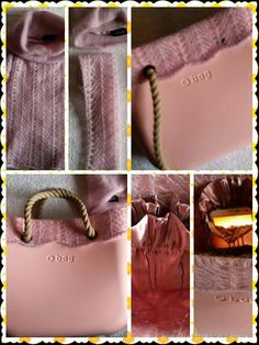 DIY * Winter Obag #work in progress #wool #old pink ♡