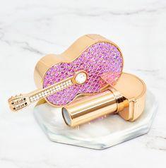 Violin Diamond Lipstick Tube EmptyHandmade DIY Lipstick Tube | Etsy Diy Lipstick, Lipstick Tube, Diy Makeup, Makeup Tools, Brand Names And Logos, Pill Organizer, Cool Mirrors, Amazing Decor