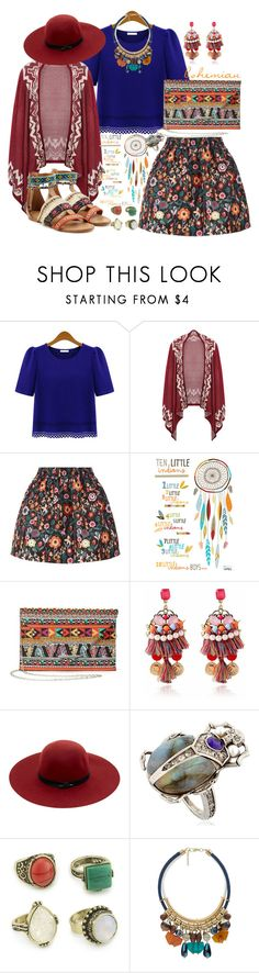 """Colors & prints"" by dabi ❤ liked on Polyvore featuring RED Valentino, Lilipinso, Maison Scotch, Alexander McQueen, MANGO, Christophe Sauvat, prints, colors, Bohemian and Stones"