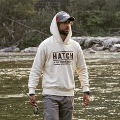 Limited edition hoodie available at info@hatchflyfishingcrew.it 100% cotton 100% made in Italy