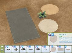 Mod The Sims - Catalogue Edit: GT Pavers as Rocks