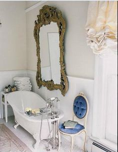 Love the glamour paired with rustic simplicity