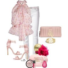 """~Pretty In Pink~"" by celiac2014 on Polyvore"