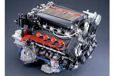 Made by Ferrari this motor was used in the Lancia Thema 8.32