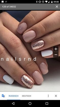 Beauty nails Trendy Nägel rosa Schellack Gold Glitter Beauty Benefits of Hair Straighteners, Fla Rose Gold Nails, White Shellac Nails, Short Nails Shellac, Pink White Nails, Rose Gold Gel Polish, Gold Tip Nails, Gel Shellac Nails, Blush Pink Nails, White Nails With Gold