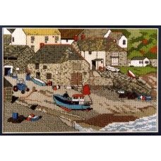 ST Ives Harbour-Cornovaglia-Punto Croce Kit-CrossStitch