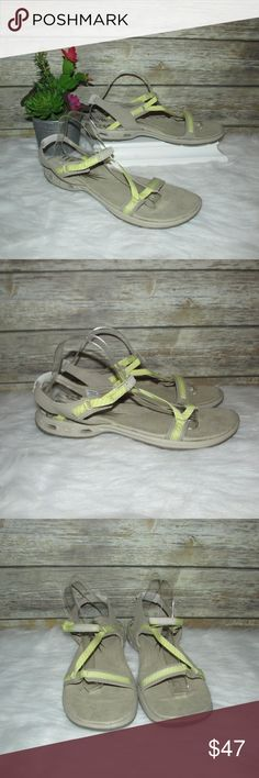I just added this listing on Poshmark: NWOT Columbia Avo Vent Beige Yellow Sport Sandals. #shopmycloset #poshmark #fashion #shopping #style #forsale #Columbia #Shoes
