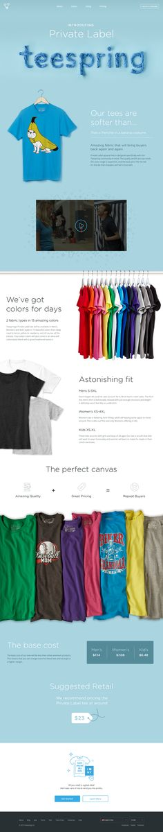 Teespring. Bounce up your apparel business. (More design inspiration at www.aldenchong.com)