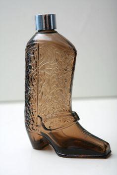 Avon Cowboy Boot After Shave Bottle by ThePrettyLittleNest on Etsy, $7.00