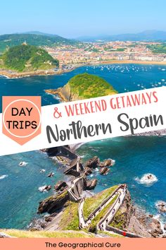 Planning a vacation in northern Spain? This is the ultimate guide to the top day trips and weekend getaways from Bilbao Spain, a gorgeous city. It's almost a shame to leave Bilbao. But Bilbao's location makes it a perfect base for taking a day trip or weekend break in the Basque and Cantabria regions of northern Spain. This Spain travel guide and itinerary takes you to all the best must see towns, cities, villages, and destinations in northern Spain, for your Spain bucket list. Spain…