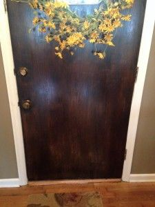 DIY Tutorial - See how to restore an old painted front door to add curb appeal to your home! http://www.justanurseandherfurniture.com/frontdoorrestoration/