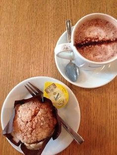 #Wonderpots #Hotchocolate #Muffin thanks to Sofia S. on Yelp :-) www.wonderpots.com