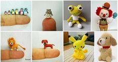 DIY Miniature Crochet Animals (Free Patterns)