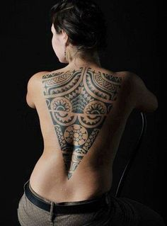 Tribal-tattoo-for-women - 70+ Awesome Tribal Tattoo Designs