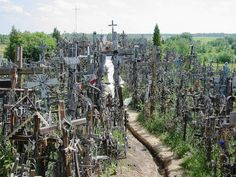 Mysterious hill of crosses where pilgrims actually believe Christ can perform miracles (33 Pics) - Healing Health