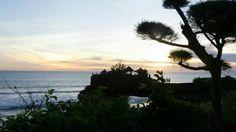 Zonsondergang Bali Indonesië