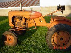 Image detail for -Allis Chalmers antique tractors