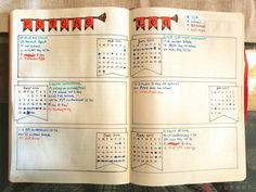 Finally did a future log, a month later! Simple layout, but effective. #bulletjournal #bujo #bulletjournalchallenge #bulletjournaljunkies #planwithme #futurelog