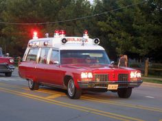 Old Ambulances of note