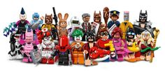 Early this morning, LEGO officially announced the upcoming LEGO Batman Movie Minifigure Series on Facebook, giving us our very first look at the next Collectible Minifigure Series! For the first time ever, LEGO are cramming a whopping 20 minifigures into this series, making this the biggest lineup yet. The LEGO Batman Movie is shaping exceptionally and is one of my most anticipated movies next year and everything that has been revealed so far is pointing towards it being another smash hit…