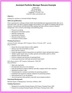 How To Write Your Skills On A Resume Resume For Property Manager  Httpgetresumetemplate3306 .