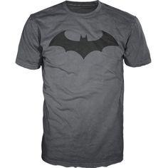 Batman Dark Knight Logo Bat Fly Mens T-Shirt ($11) ❤ liked on Polyvore featuring men's fashion, men's clothing, men's shirts, men's t-shirts and mens t shirts
