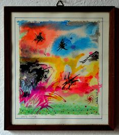 The time of the UFOs Ufo, Paintings, Paint, Painting Art, Painting, Painted Canvas, Drawings, Grimm, Illustrations