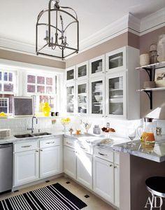 The kitchen of David Jimenez's Kansas City apartment.