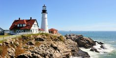 Located in Cape Elizabeth, Maine's oldest lighthouse (it dates to 1791) is also one of the state's most photographed landmarks.