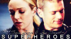 Sara & Leonard - SUPERHEROES [1x05]