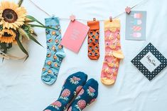 Socks Happily hanging around. Happily hanging around. Funky Socks, Colorful Socks, Socks Quotes, Marionette, Sock Shop, Warm Socks, Flatlay Styling, Happy Socks, Fashion Socks