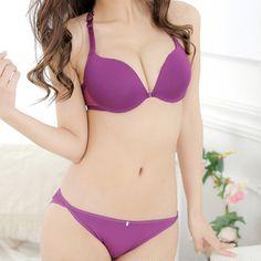 3Pcs Sexy Lingerie Seamless Bras For Women Intimates Women Push Up Bra Front Buckle Brassiere Sport Bras Adjustable Underwear