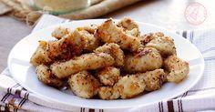I bocconcini di pollo sabbiosi dopo zucca e le patate un'altra ricetta sabbiosa, una ricetta facile e velocissima che risolve la cena in poco tempo.