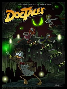 DocTales (oo-oo-ooh!) Doctor Who meets Howard the Duck is all that comes to mind when I see this