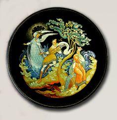тарелка царевна-лебедь и гвидон 2011г.