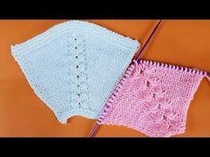 YILDIZ ROBA REGLAN ARBEITSDETAILLIERTER AUSDRUCK - YouTube Baby Knitting Patterns, Knitting Stitches, Hand Knitting, Vogue Knitting, Crochet Baby, Crochet Bikini, Knit Crochet, How To Make Braids, Knitting Videos