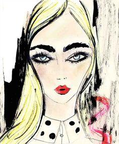 Lucia Emanuela Curzi, Top Rated Fashion & Beauty illustrator