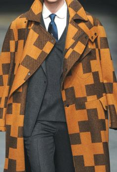 PRINTS, PATTERNS, TEXTURES AND DETAILS FROM THE RECENT LONDON FASHION WEEK (FALL/WINTER 2014/15 MENSWEAR) /   E.Tautz