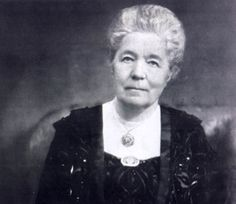 Writer Selma Lagerlöf, the first woman to be awarded the Nobel Prize in literature