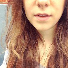 classy septum piercing