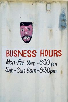 love these barber shop signs